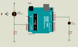 How to turn ON OFF a LED with LDR and Arduino – eewriter eestuffs ...