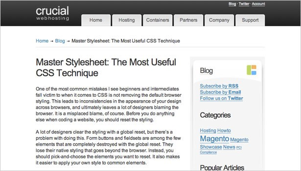 148 resources to help you become a css expert dotdev master stylesheet the most useful css technique a master stylesheet used for clearing and resetting browser defaults malvernweather Images