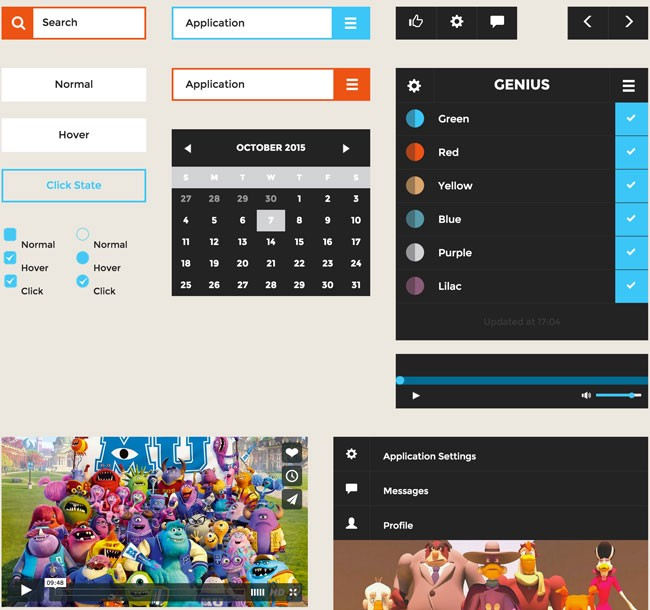 UI Templates and kits for Developers