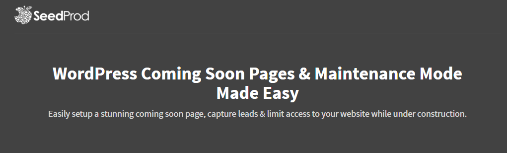Best WordPress Coming Soon Page and Maintenance Mode Plugin