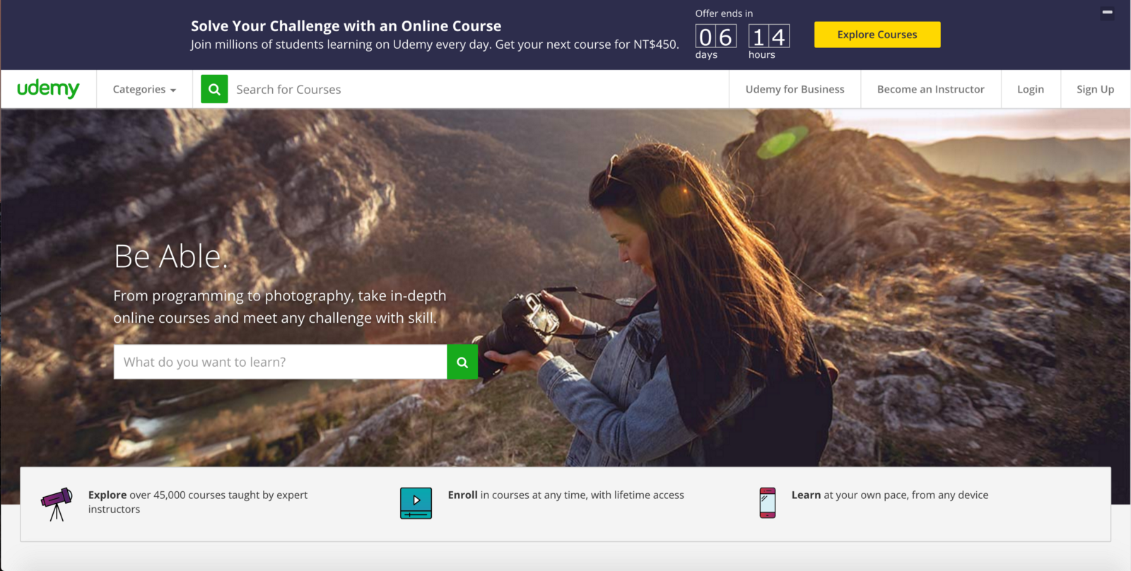 Self-learning on Udemy website image - eulercoder