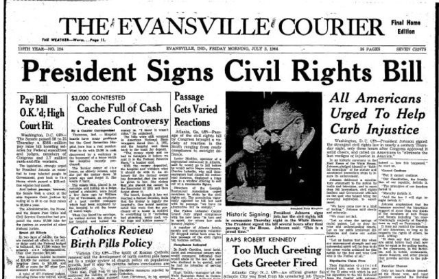 Reformism The Civil Rights Act Of 1964 Refuse To