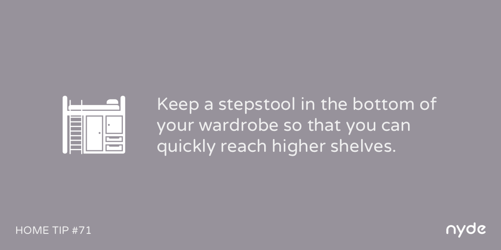 Home Tip #71