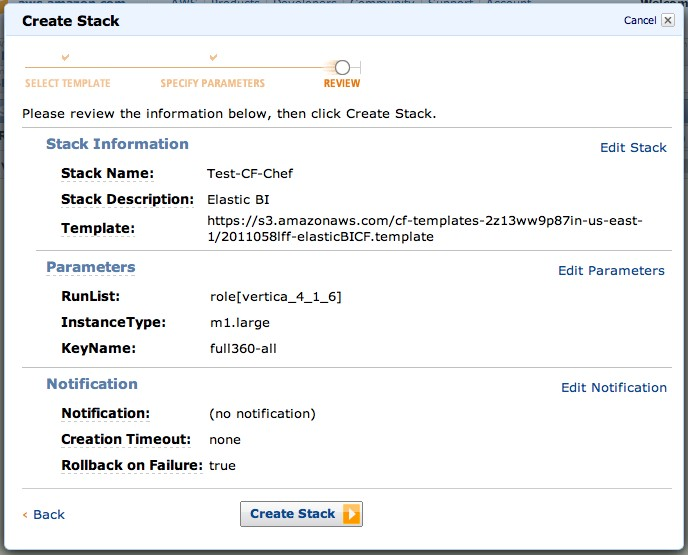 Integrating AWS CloudFormation and Chef – Full 360
