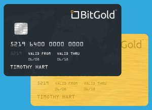 bitgold credit card