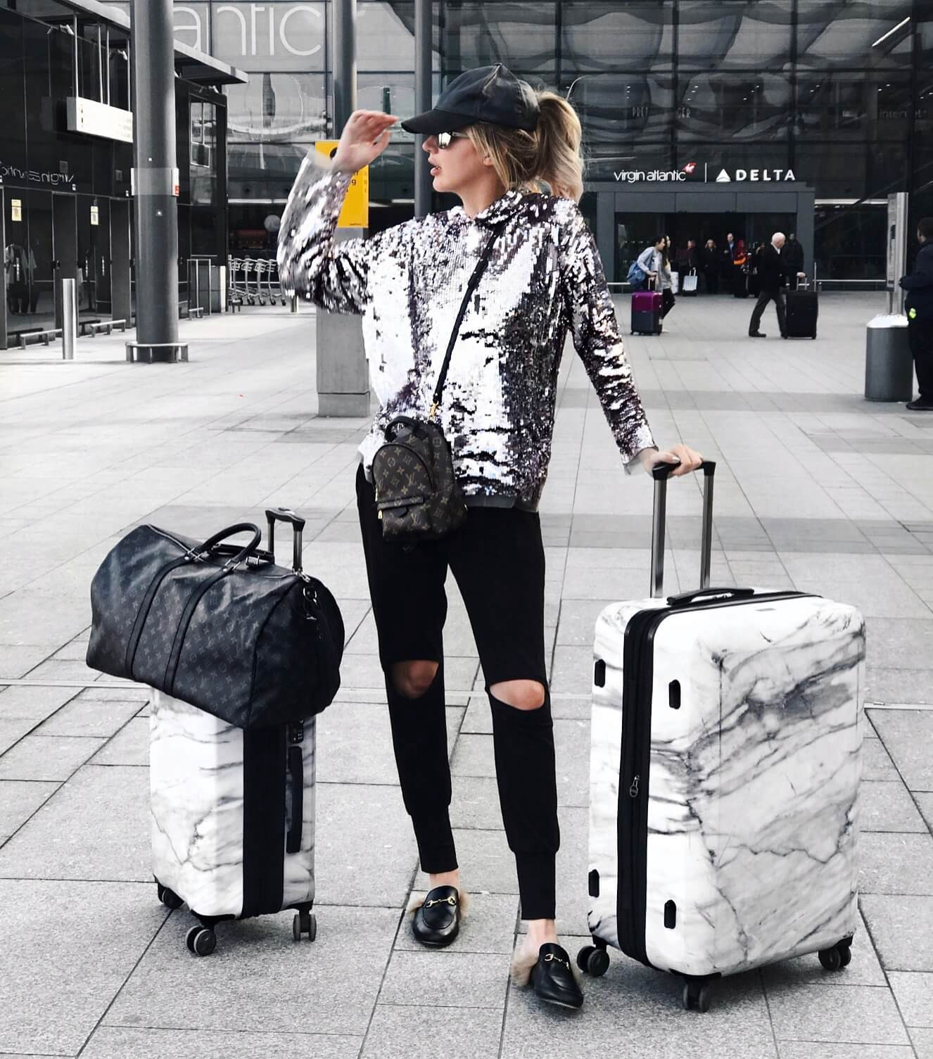 Long Haul Flight Tips: Traveling outfit