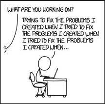 Image result for technical debt cartoon