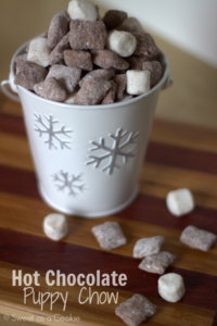 hot chocolate mix puppy chow