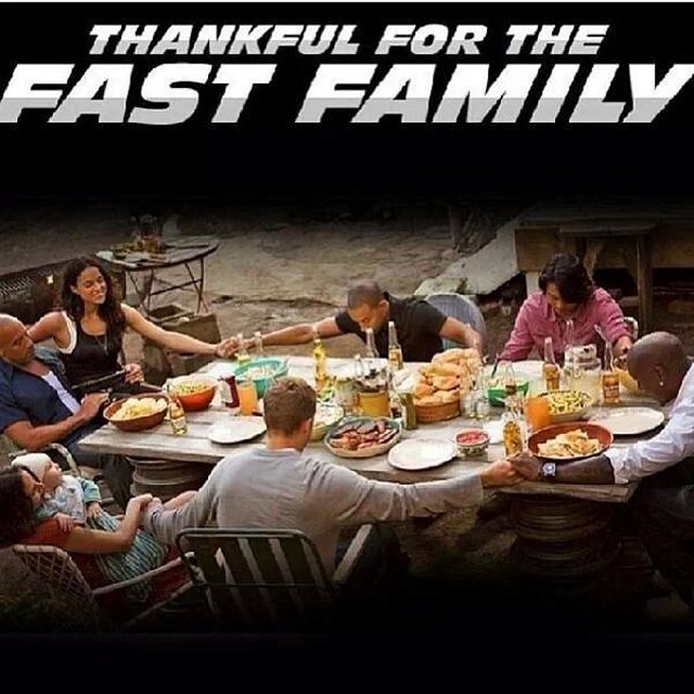 thankful for fast family