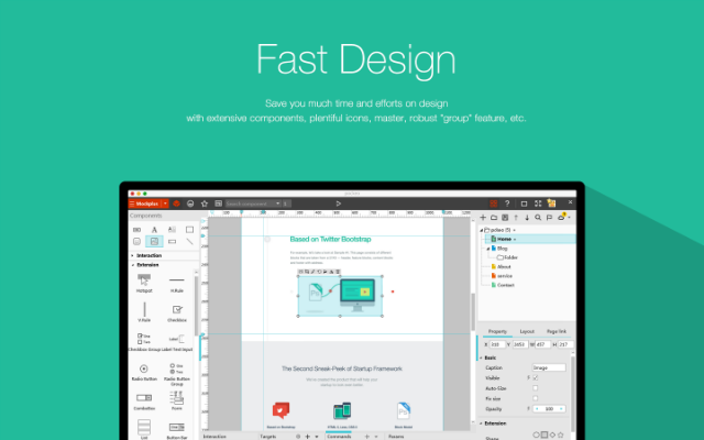 Free Wireframe Design Tool For Mac