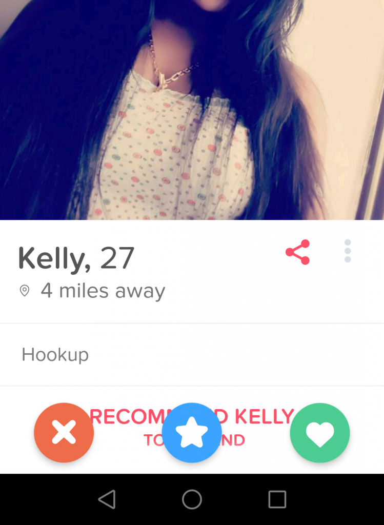 Using tinder not to hook up