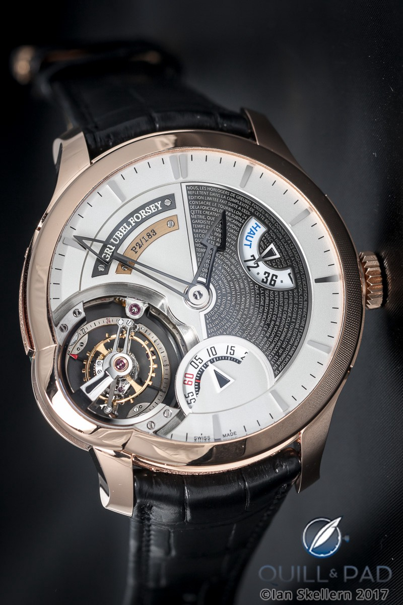 Greubel Forsey Tourbillon 24 Secondes Edition Historique in red gold