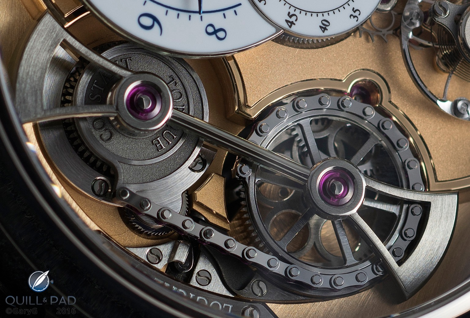 Innovation in action: constant torque assembly of the Romain Gauthier Logical One