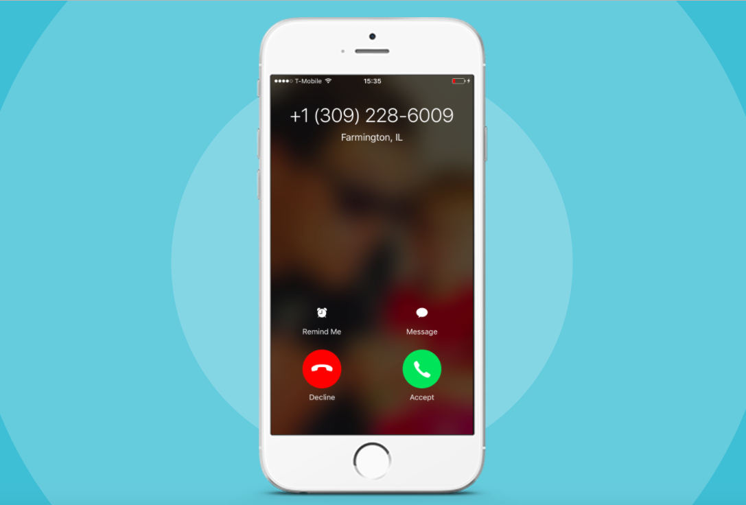 Upcall Local Presence Caller ID