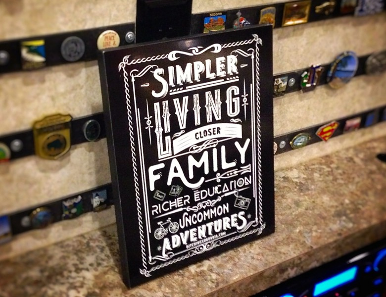 Simpler living. Closer family. Richer Education. Uncommon Adventures.