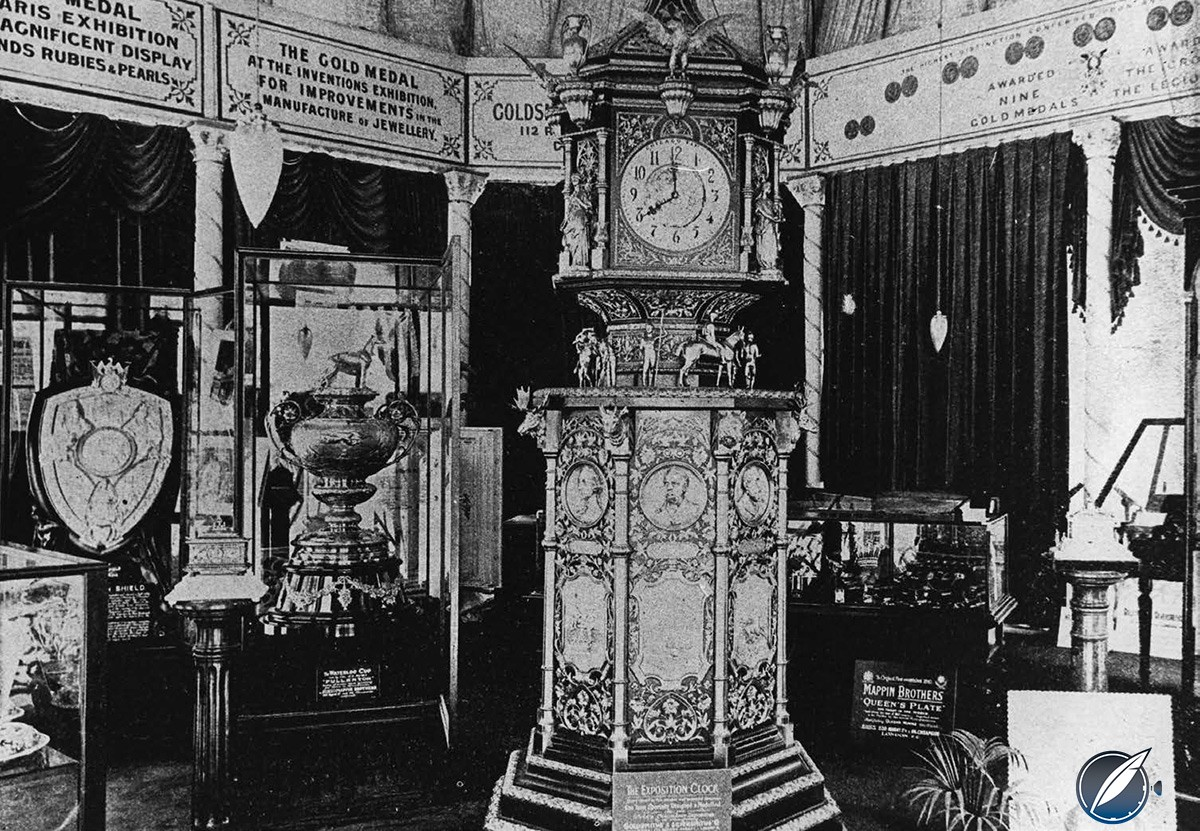 Waldorf Astoria clock was originally commissioned for the 1893 World Fair in Chicago