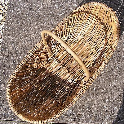 vintage-large-willow-wicker-basket-wooden-handle