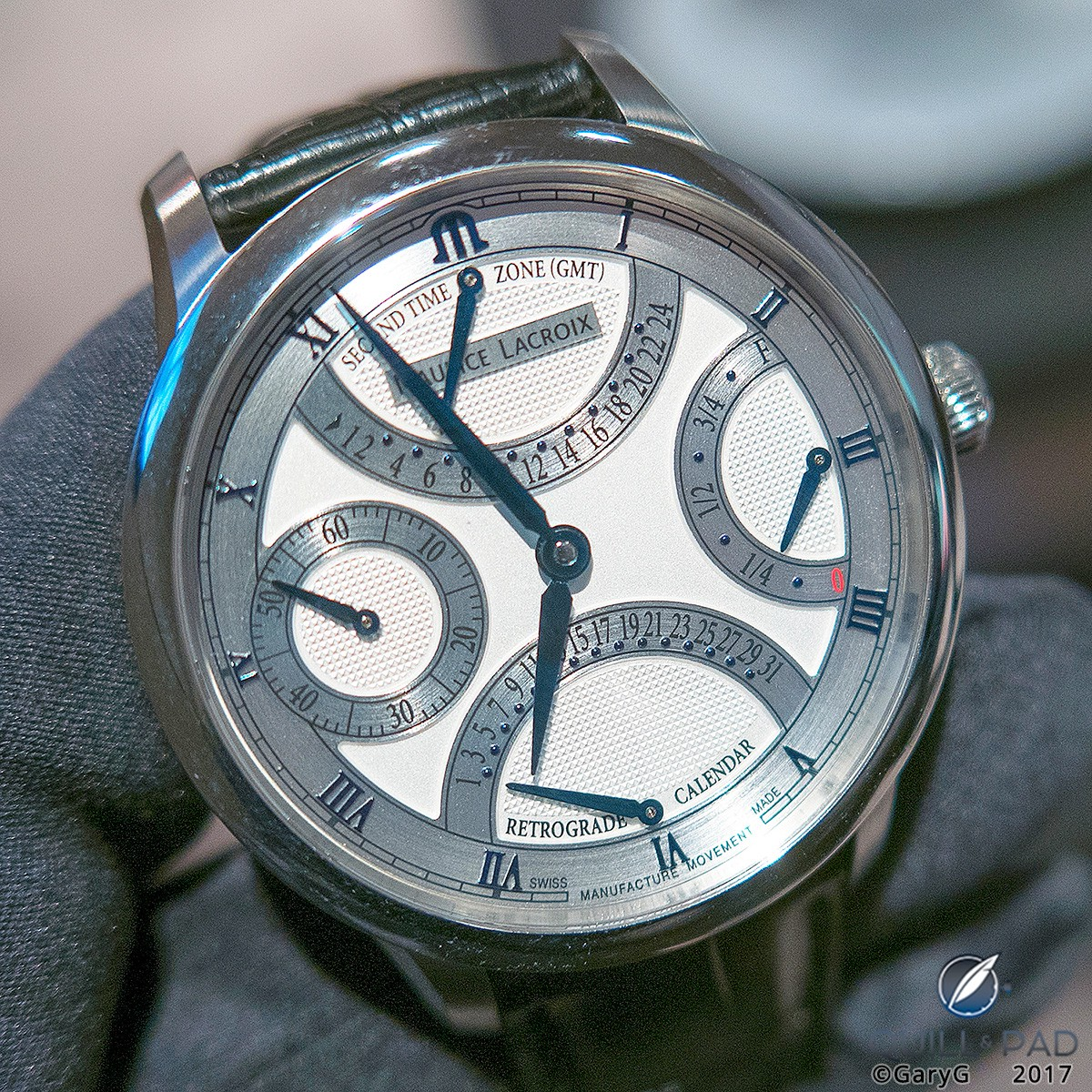 Maurice Lacroix's 2017 Masterpiece Double Retrograde