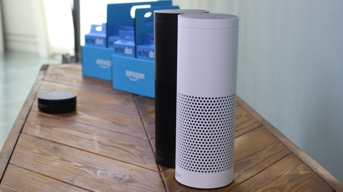 Finally, the #AmazonEcho works with your Bluetooth speakers | Wearable  #IoT #SmartHome