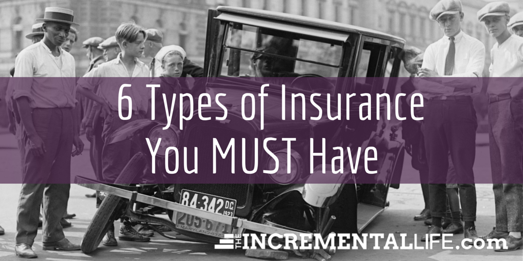 6 Types of Insurance
