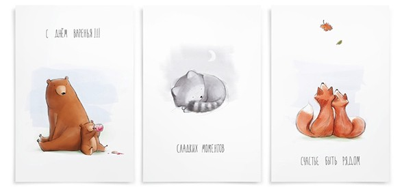 Postcards-hand-drawn-on-Behance