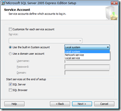 Access Denied: Creating Databases in SQL Server 2005 Express