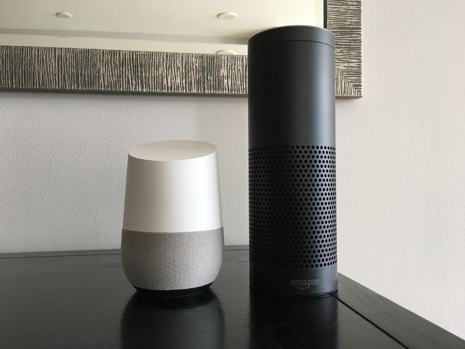 google home or alexa