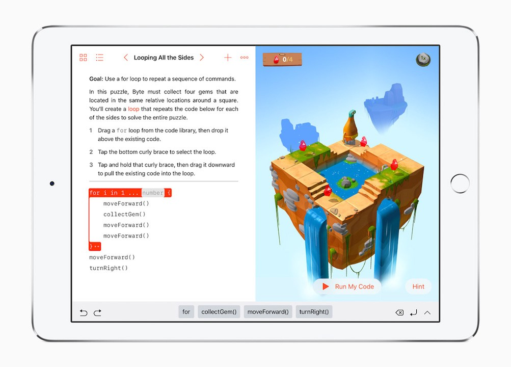 Swift Playgrounds Makes Learning to Code Easy & Fun for Everyone
