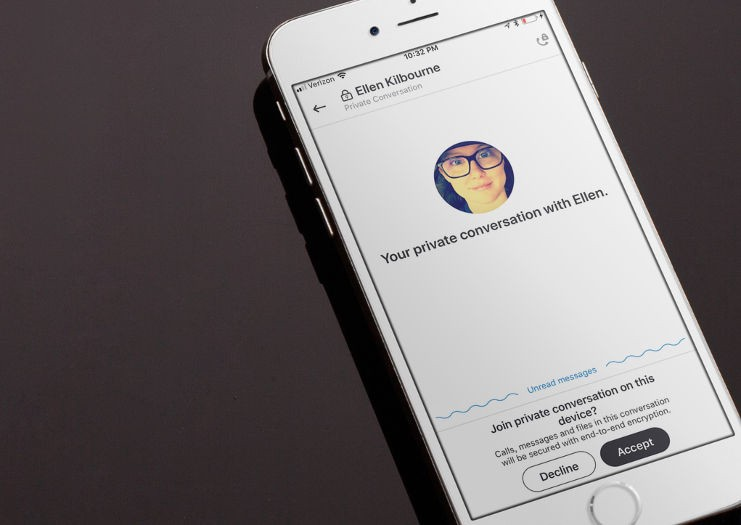 Chat Encryption in Skype