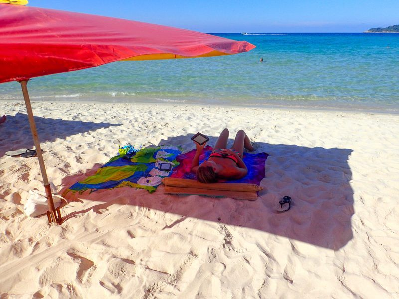 Relaxing on Perhentian islands