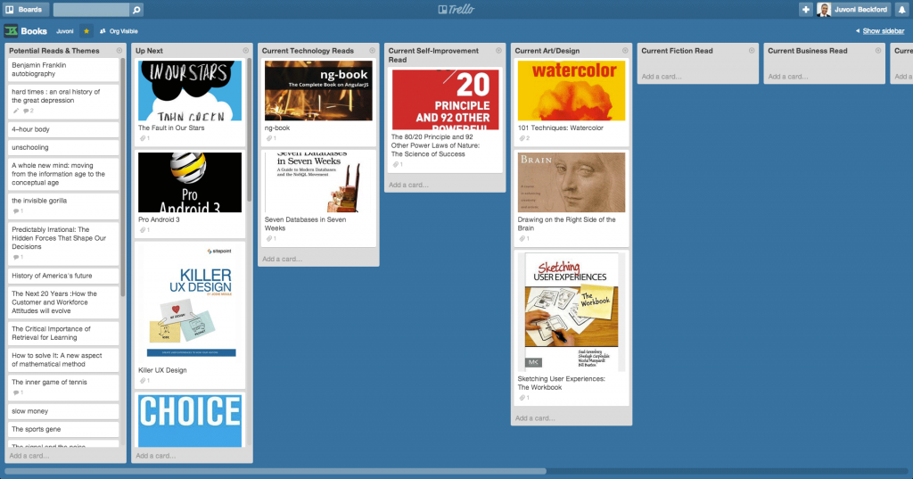 Books_Board_Trello