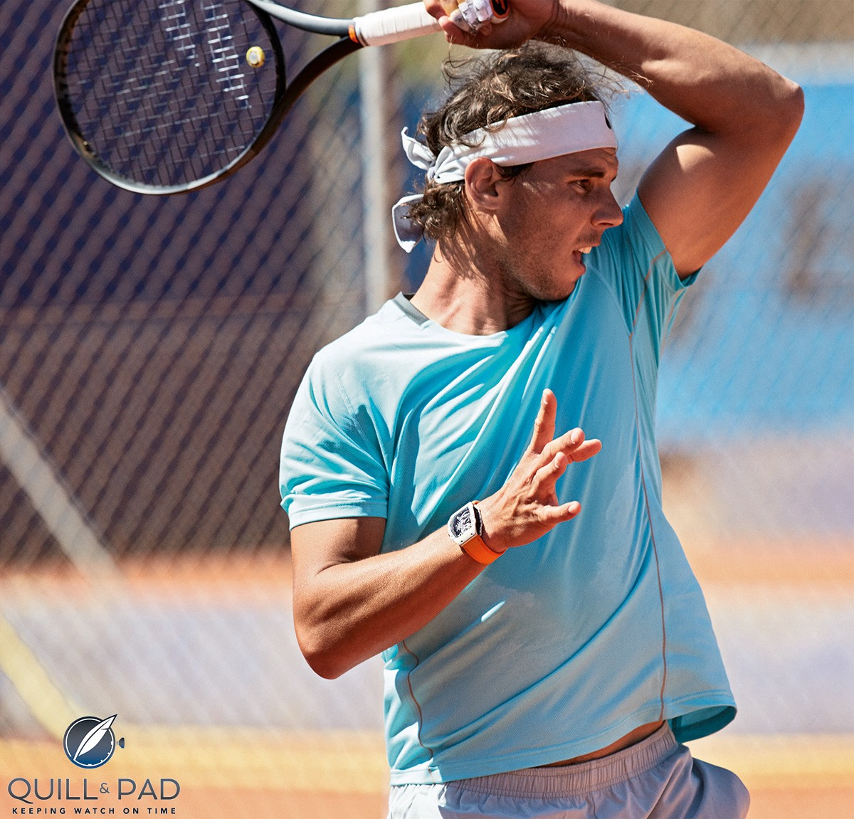 Rafael Nadal's energetic style of tennis is the ultimate test for the Richard Mille RM 27-02 RN