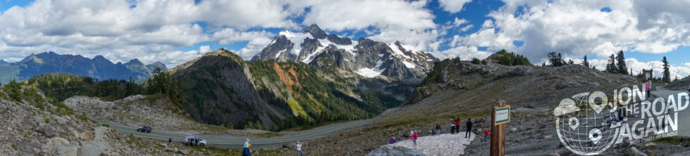 Mount Shuksan Panorama from Artist Point