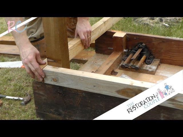 Restoring A Wood Work Bench – Part 1 Of 3