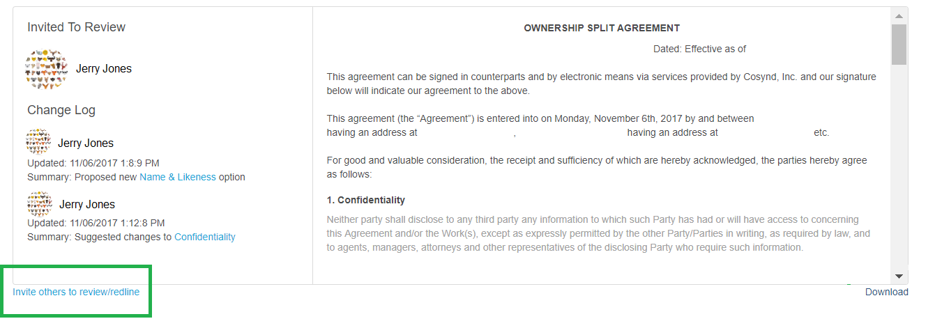 How To Review And Complete An Agreement You Have Been Invited To