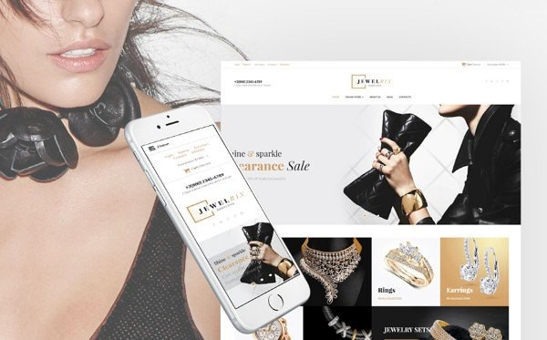 Jewelry Collection VirtueMart Template