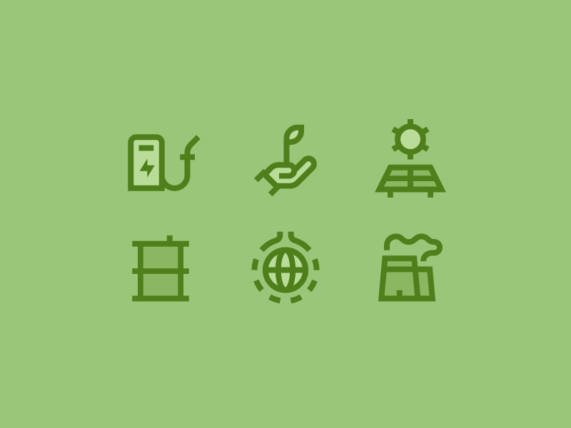Ecology icon pack by Carlos del Barrio