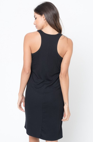 482fd96d3361 Buy Now Scoop Neck Ribbed Tank Midi Dress Online -Final Sale- $20 ...