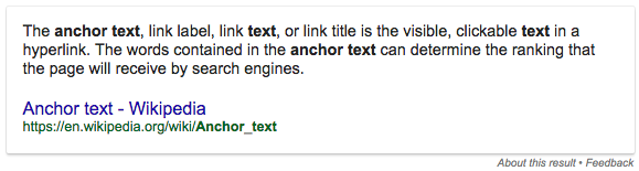 anchor-text-definition