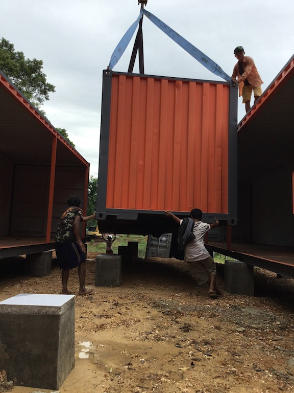 Moving Cargo Containers