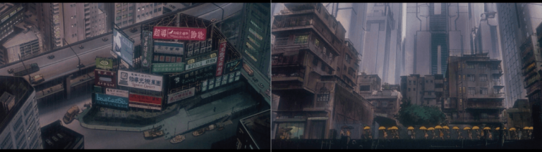 Ghost in the Shell montagem 3