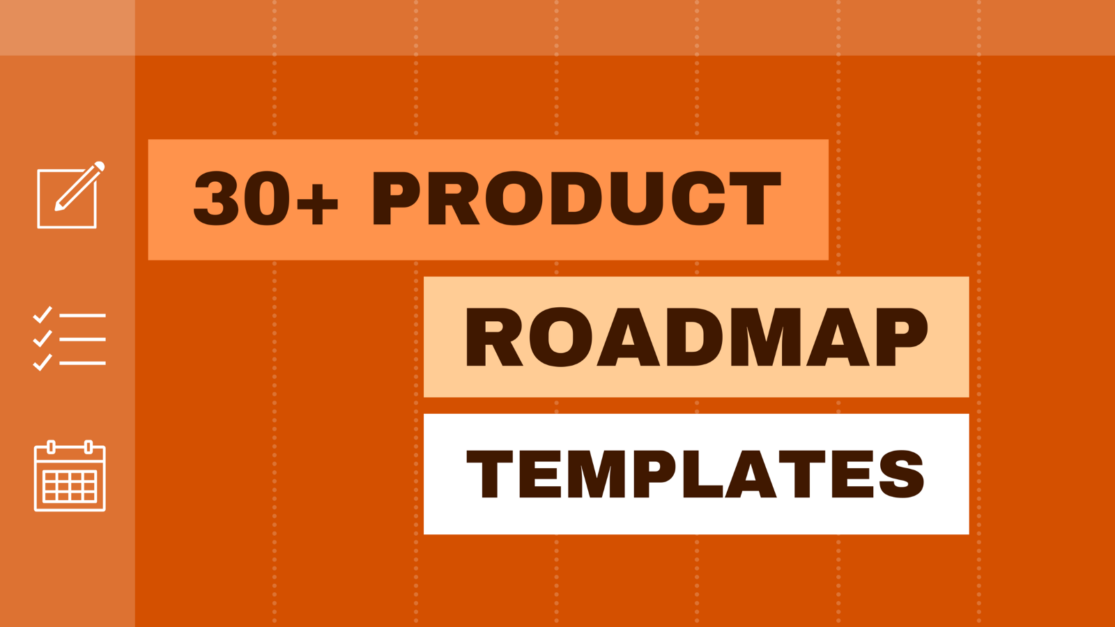 5 simple product roadmap design tips  u0026 templates