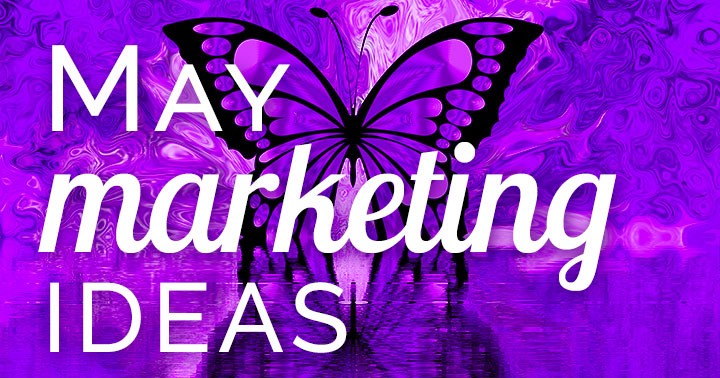 Need May marketing ideas? Download a FREE content inspiration calendar! This colorful Spring month is loaded with concepts to make your business bloom.
