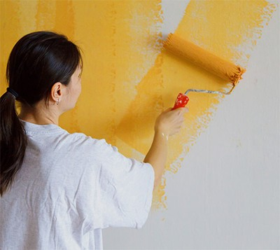Painting Wall for Decal