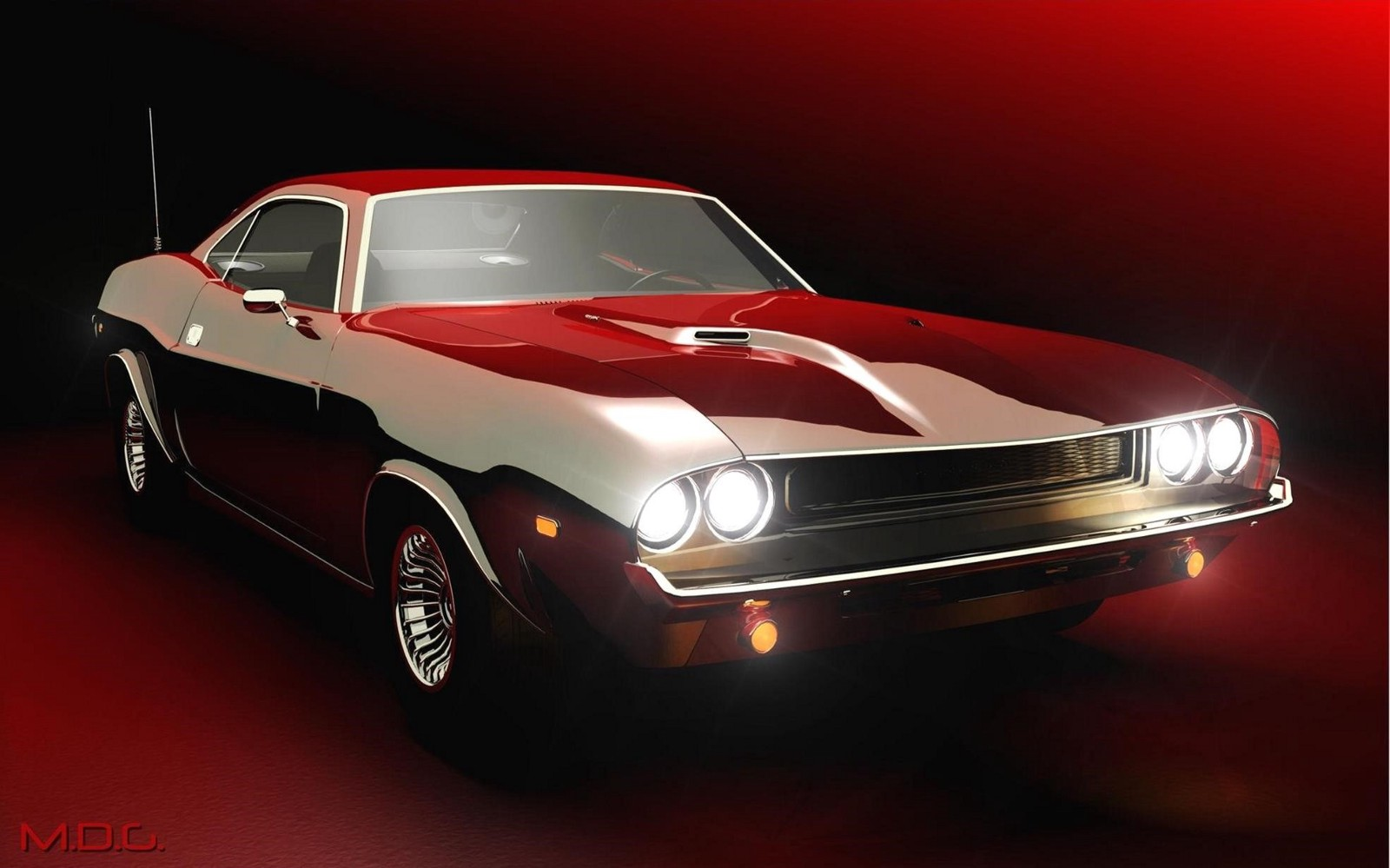 Classic Muscle Car Wallpapers Hd Wallpaper Medium