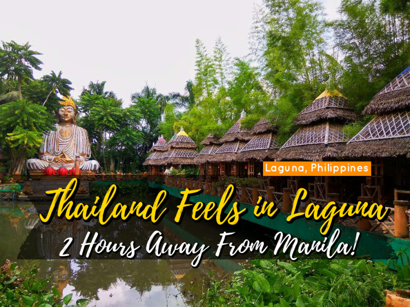 Thailand Feels In Laguna Isdaan Floating Resto Fun Park 2 Hours Away From Manila