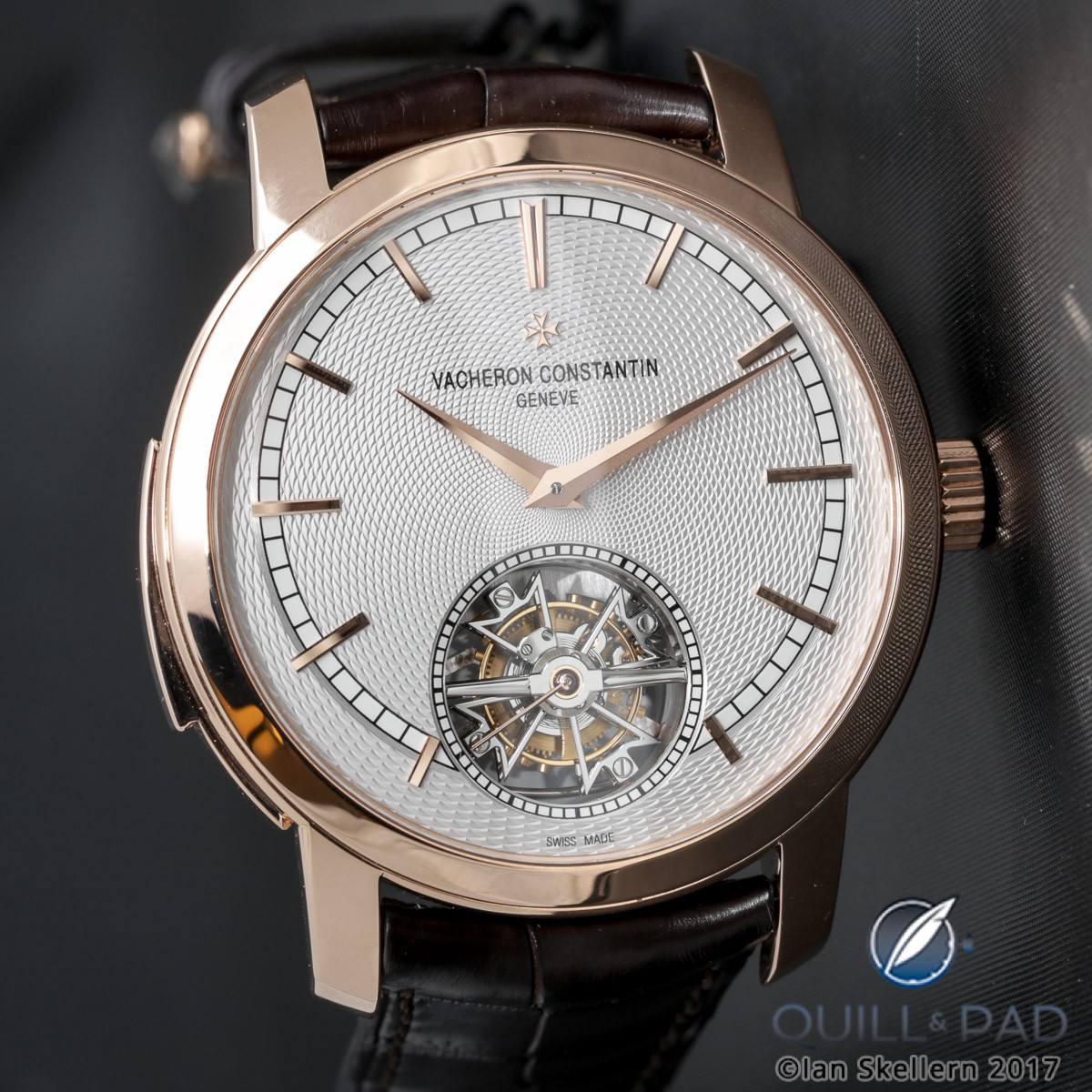 Geneva Seal certified - as are all Vacheron Constantin timepieces - Traditionnelle Minute Repeater Tourbillon
