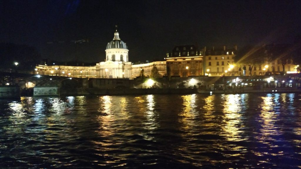 Seine River cruise view