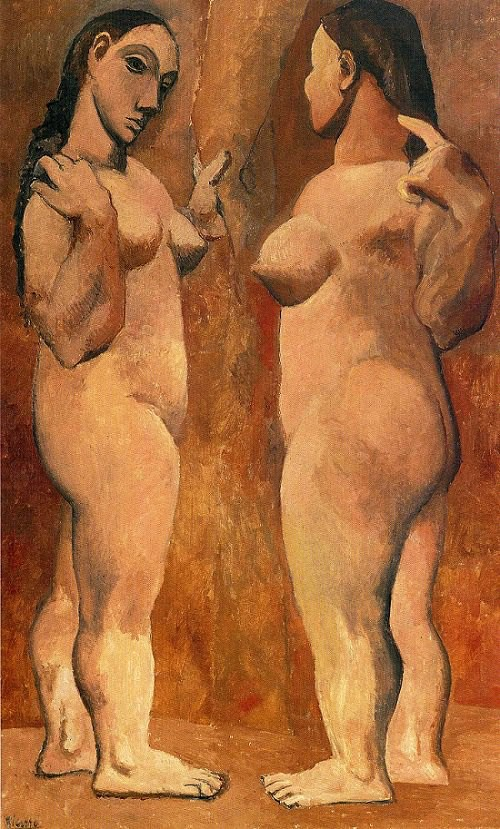 Two Nudes, 1906 by Picasso