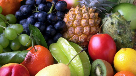 Foods to emphasize - fruit